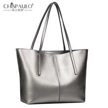 Женская сумка из натуральной кожи, Новая модная женская сумка, однотонная воловья сумка на плечо, большая Вместительная женская сумка, повседневная сумка-тоут
