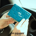M Square Travel Credit Card Holder Driving License Cover ID Business Card Holder Cards Bag Case Porte Carte