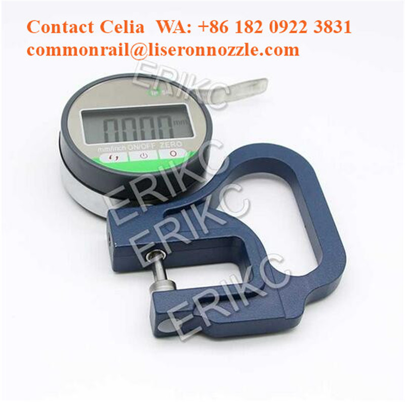 ERIKC Digital Micrometer, Caliper, Shims Measurement tools for measure fuel injector gaskets washer shims thickness.