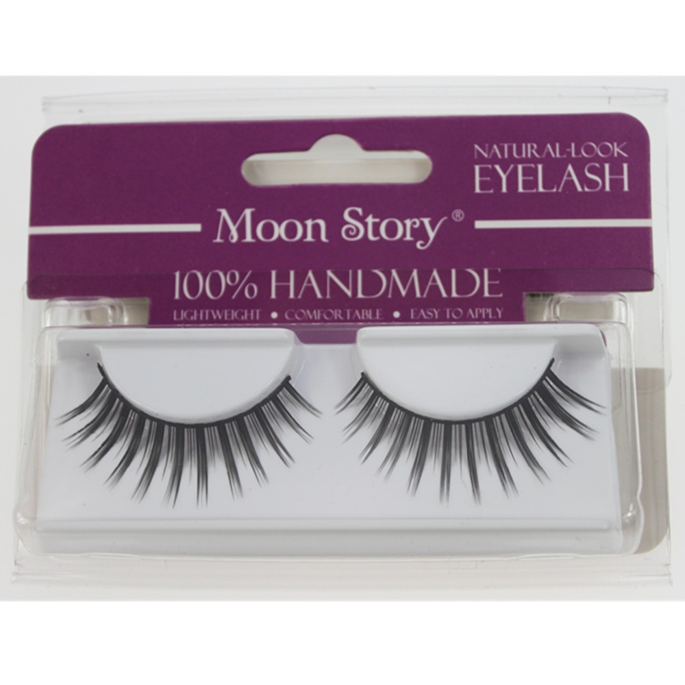 Hot sale eyelash extension 1 Pair Natural Or Thick Styles Makeup ...