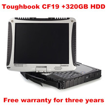 High quality Toughbook CF19 CF-19 laptop three years warranty Toughbook Panasonic laptop CF 19+320G HDD with DHL Free Shipping