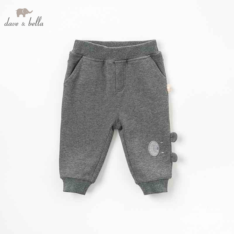 DBW8218 dave bella autumn winter baby girls pants children full length kids dark grey pants infant toddler trousers db6938 dave bella winter baby girls full length kids fashion pink pants children trousers