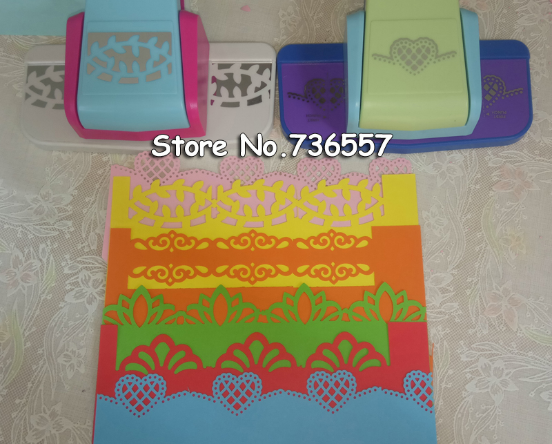 New fancy border punch S flower design embossing Punch scrapbooking handmade edge device DIY paper cutter Handmade Craft gift new arrival fancy border punch fish design scrapbooking embossing punch for diy handmade crafts 8726 5