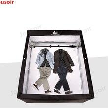 Светодиодный Большой studio 160 см мягкий свет окно ребенок модель фотографии лампы поле Шкаф Одежда сцены studio CD50