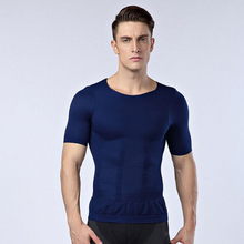 Men's Tight  PRO  T-Shirt Fitness Tank High-elastic breathable quick-drying short-sleeved  half-sleeves