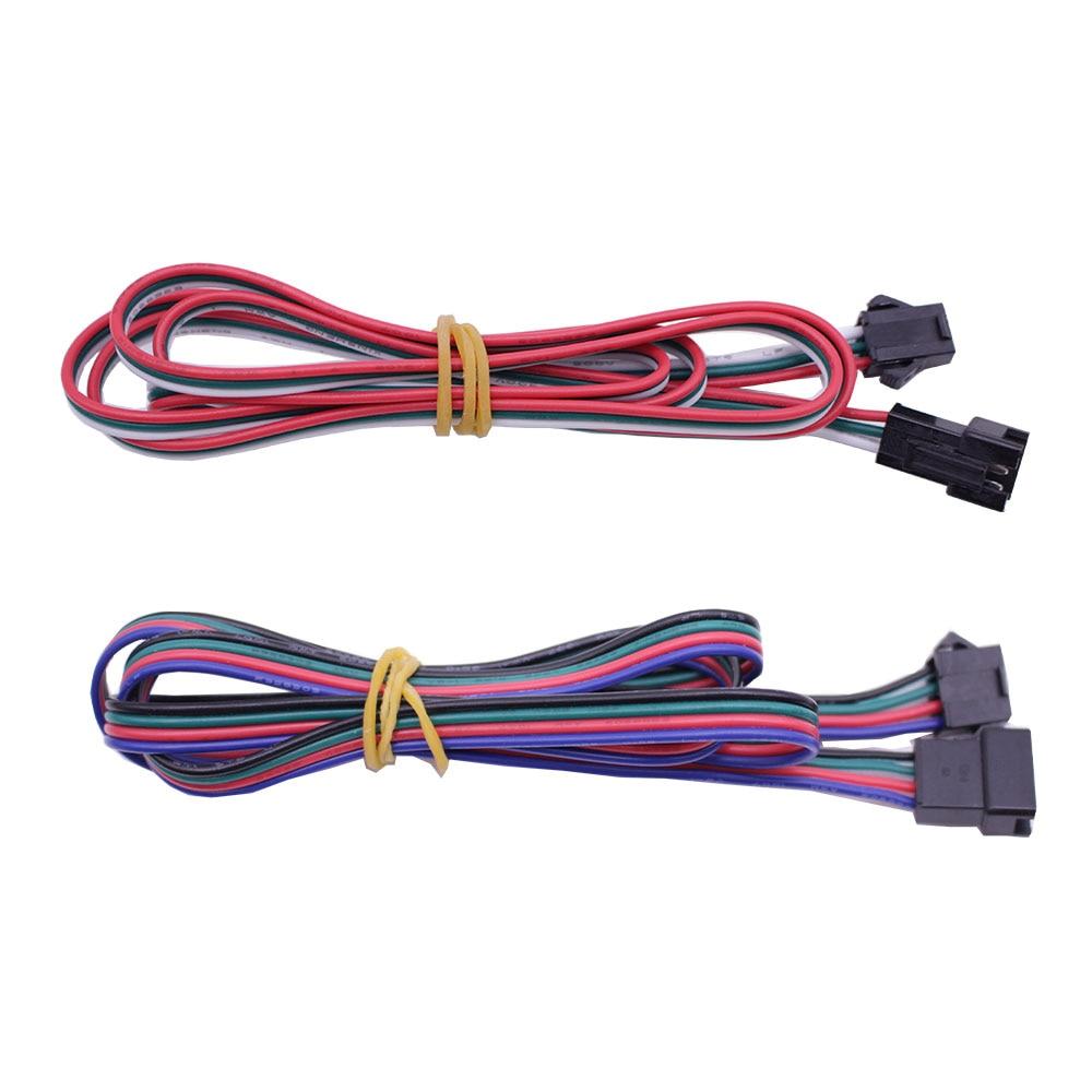 Long JST SM 2P 3P 4P 5P 6P Plug Male to Female Wire Connector LED connectors