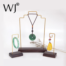 Vintage Metal Large Pendant Necklace Jewelry Display Show Hanging Stand Rack Jewellery Bangle Bracelet Ornaments Storage Holder