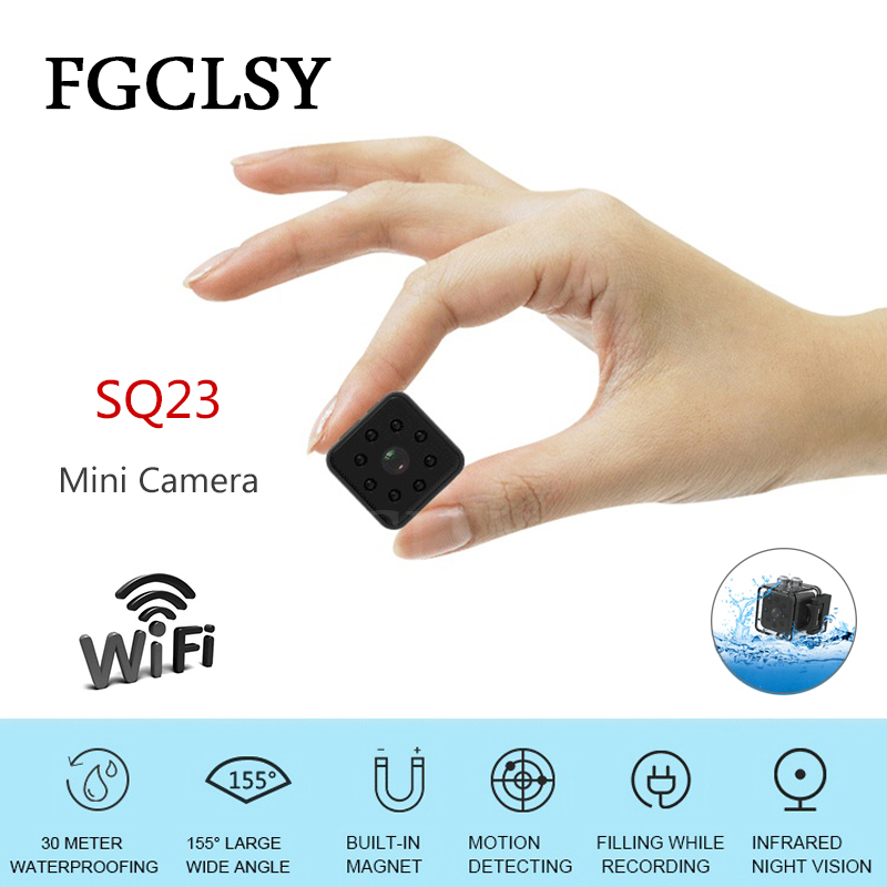 все цены на FGCLSY SQ23 HD WIFI small mini Camera cam 1080P video Sensor Night Vision Camcorder Micro Cameras DVR Motion Recorder Camcorder онлайн
