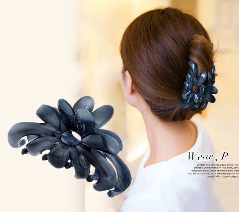 Women headwear fashion shower hair catcher strainer hair claw korean hair clips vintage hair accessories for women women headwear 2017 retro hair claw cute hair clip for girls show room vitnage hair accessories for women