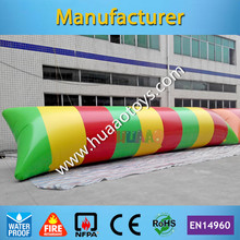 цена на Free Shipping 10*3m 0.9mm Water Blob Jump Inflatable Water Blob for Sale Any Color You Want
