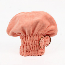 Yooap Adult shower cap Strong absorbent adult dry hair thickening quick towel steamer satin bonnet
