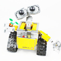 687pcs kawaii Robot Building Blocks Set boys toy Educational Blocks Bricks Kits toys for children Festival Gifts 16003