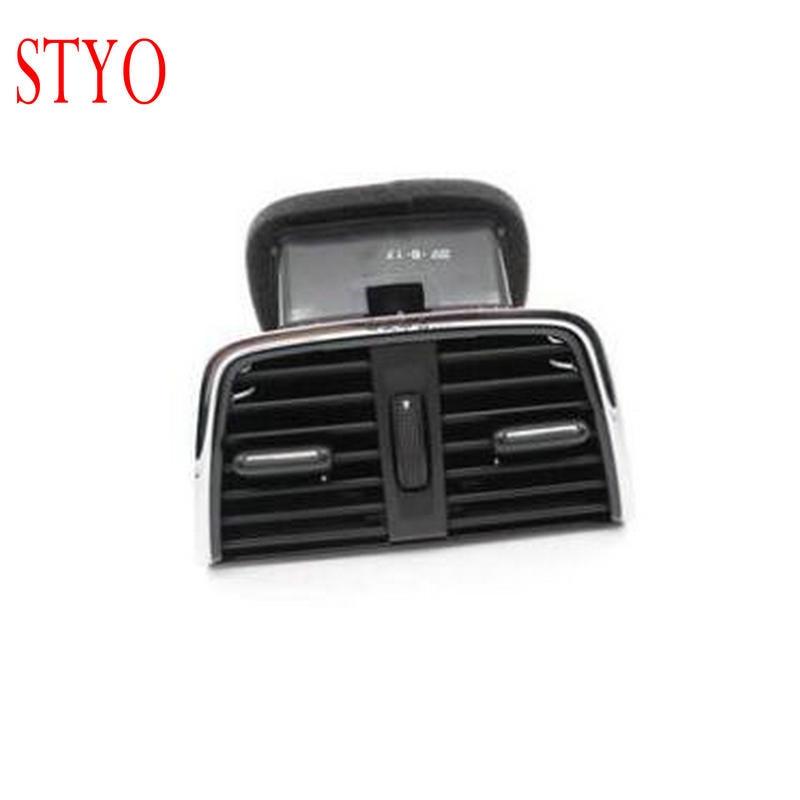 STYO Car Rear armrest air vent air nozzel cover for MQB Octavia 2015 2016 2017 2018