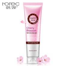 HOREC Cherry essence Body Exfoliating Gel Dead Skin Remover Whitening Moist Deep Cleasing Skin Care Product 320ML Skin Care(China)