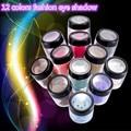 12 Colors EyeShadow Flash Powder Super EyeShadow Shining Bright Glitter Powder Eye Shadow Pink Diamond Brand Makeup