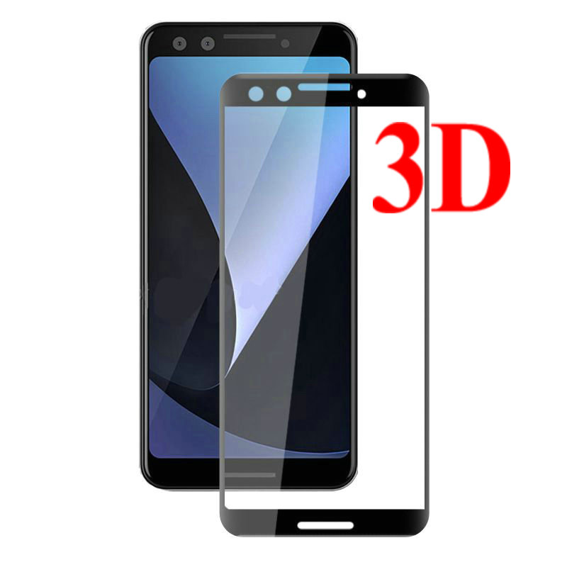 For Google Pixel 3 3D Full Cover Tempered Glass Screen Protector For Google Pixel 3 For Google Pixel 3 XL Pixel3 XL Glass Film