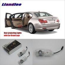 Liandlee Car Door Ghost Shadow Lights For BMW E65/E66/E67/E68 2003~2008 Courtesy Doors Lamp / LED Projector Welcome Light