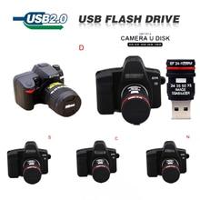 Mini SLR camera usb flash drive 4GB 8GB 16GB pen drive 32GB 64GB 128GB pendrive 2.0 Real capacity Thumb flash memory stick gift