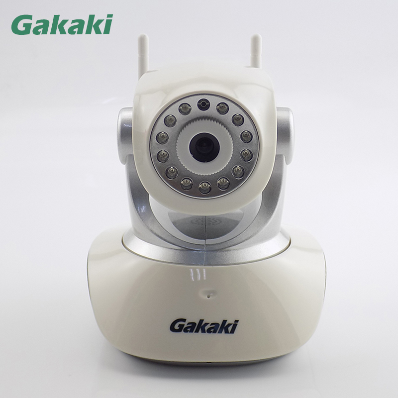 Gakaki HD 720P Indoor Home Security IP Camera Wireless Wifi CCTV Surveillance Camera P2P IR Infrared Two Way Audio Baby Monitor bw wifi ip camera hd 720p smart p2p baby monitor infrared ir wireless surveillance security network cctv onvif with door sensor