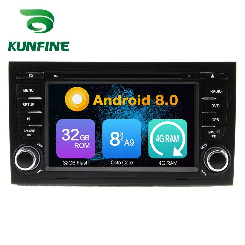 Octa Core 4GB RAM Android 8.0 Car DVD GPS Navigation Multimedia Player Car Stereo for Audi A4 S4 RS4 2002-2008 Radio Headunit screenshot