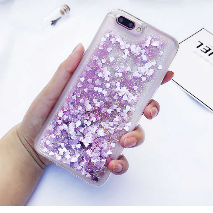 Cases For Huawei Honor 7A Pro 7C 7S 7X 9 Lite 8 Cover Case Honor Play 7 6x GR5 2017 6A 5X 5C 4x 4C 4A Y6 10 Glitter Liquid Shell