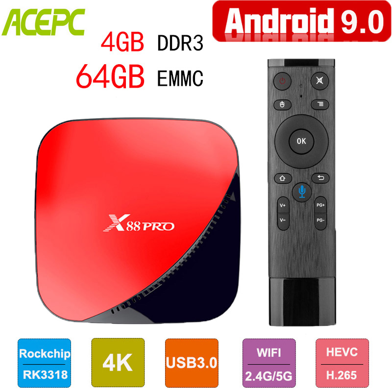 X88 pro TV Box Android 9.0 4G 64G Rockchip RK3318 Qcta Core 5G Wifi HD Youtube 4K Google Player Pk x96 max h96 android tv boxX88 pro TV Box Android 9.0 4G 64G Rockchip RK3318 Qcta Core 5G Wifi HD Youtube 4K Google Player Pk x96 max h96 android tv box