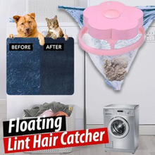 Floating Pet Fur Catcher Laundry Lint Hair for Washing Machine Magic Catching