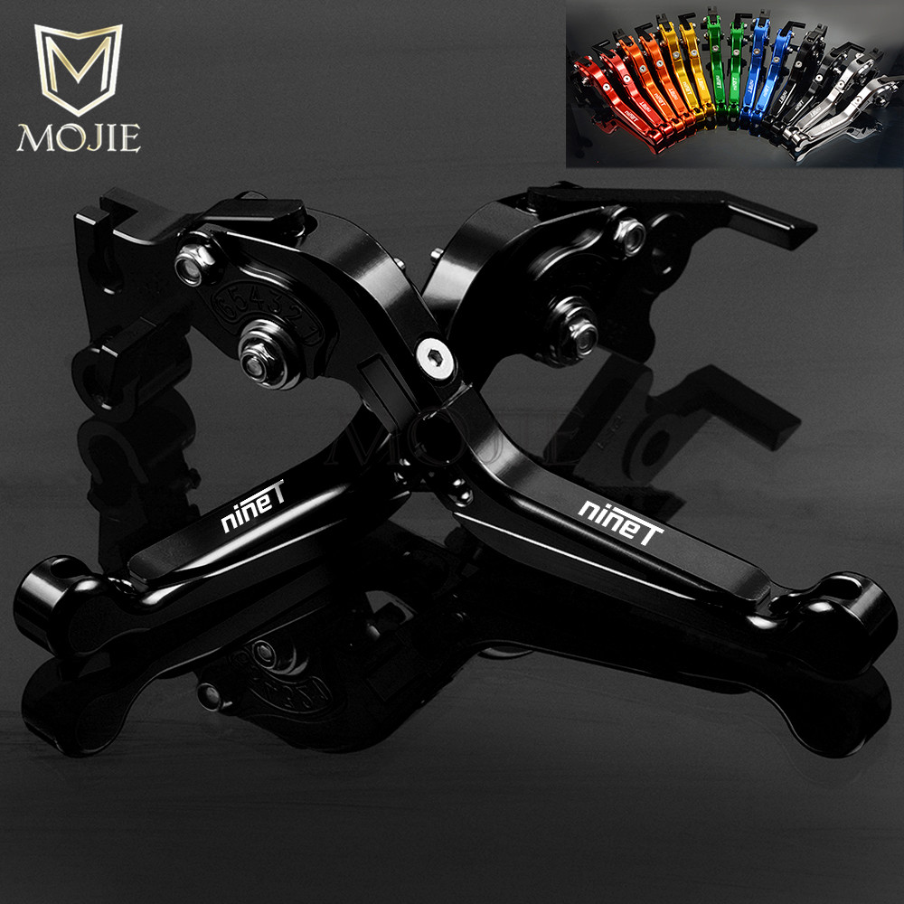For BMW R NINE T RNINE T R NINET RNINET 2014-2016 2015 Motorcycle CNC Aluminum Adjustable Folding Extendable Brake Clutch Levers цена