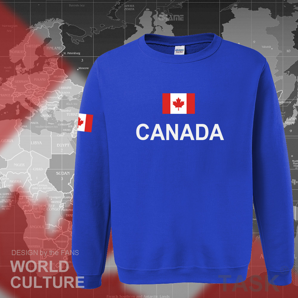 Canada 17 hoodies men sweatshirt sweat new streetwear clothing jerseys footballer tracksuit nation Canadians flag fleece CA 3
