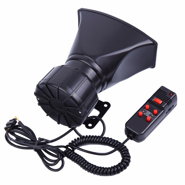 US $18 88 |5 Sound Tone 300db Car Van Truck Megaphone Loud Air Horn Siren  w/ PA MIC Speaker-in Multi-tone & Claxon Horns from Automobiles &