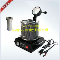 Capacity 2 KG Max Set Temp 1150 C One Graphite Crucible free Charge Gold and Silver Melting Furnace Jewelry Tool and Equipment