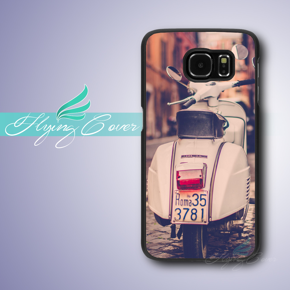 Coque Vespa Art Italy Rome Phone Case for Samsung Galaxy S8 Plus S3 S4 S5 S6 S7 Active Case for Samsung Galaxy Grand Prime Cover