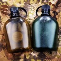 Yüksek kapasiteli açık su şişeleri Mükemmel Askeri Taşınabilir Seyahat Su Isıtıcısı Pot Şişeleri 1000 ml Benim Su Çevre Dostu bpa