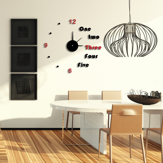 Wholesale Modern Unique Clock Design DIY Wall Clock 2015