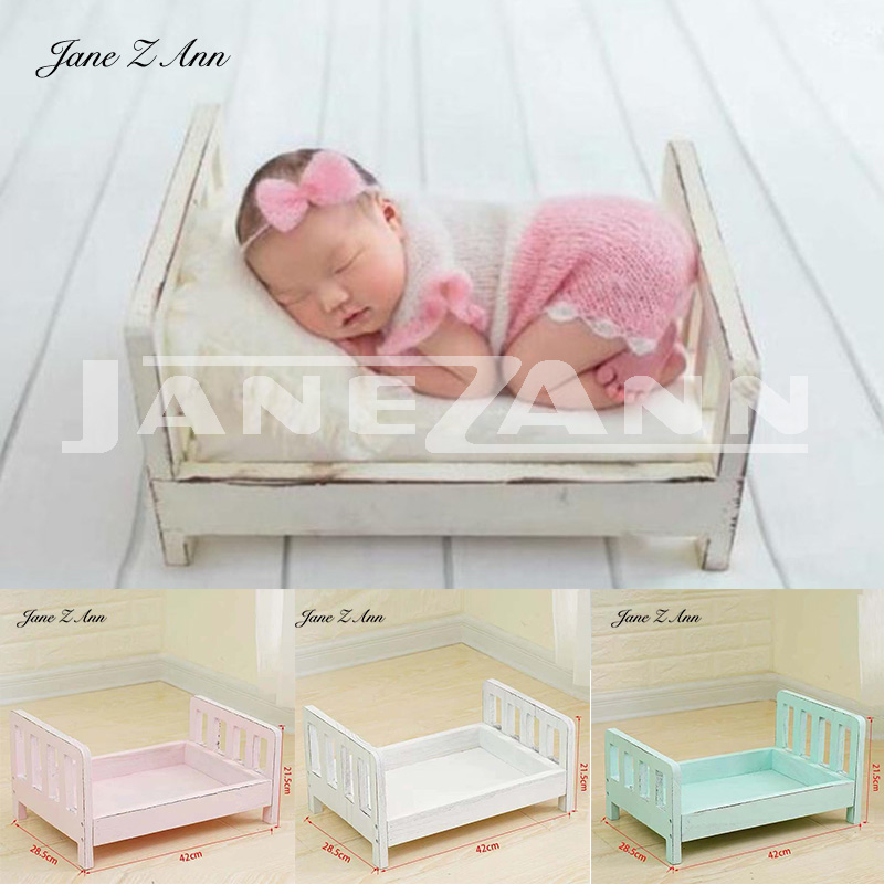 Jane Z Ann Newborn Photography props Creative infants  solid wooden install Retro old bed  42*28.5*21.5  studio accessoriesJane Z Ann Newborn Photography props Creative infants  solid wooden install Retro old bed  42*28.5*21.5  studio accessories