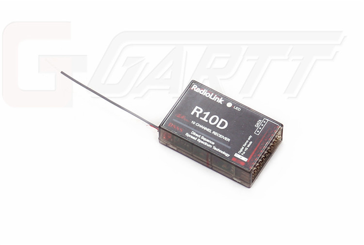 ФОТО Freeshipping 5PCS/LOT RadioLink R10D 2.4G 10CH Receiver Special for RadioLink AT10 Remote Controller