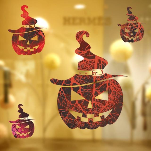 Halloween Festival kürbis laterne wandaufkleber Wohnzimmer ...