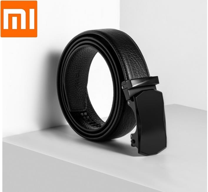 Xiaomi VLLICON Automatic Buckle Belt First Layer Cowhide High Quality Fashion For Male Strap Cow Skin Smart Fashion Men Belts