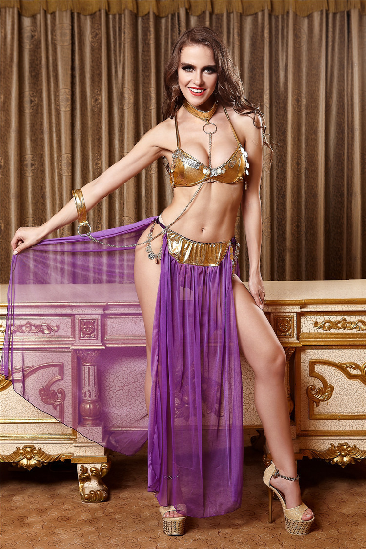 Ensen Arabic dress Sexy Belly Dancing Arab dance skirts Lingerie suit  cosplay Arab dance costumes for women Stage performance-in Belly Dancing  from Novelty ...