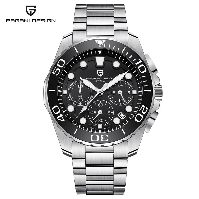 Men's Watch PAGANI Sports Design Chronograph 1
