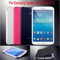 2017 новый Бизнес Роскошный Тонкий Кожаный Чехол Case Для Samsung Galaxy Tab 3 Lite T110 T111 t113 7 дюймов Tablet + pen бесплатная доставка
