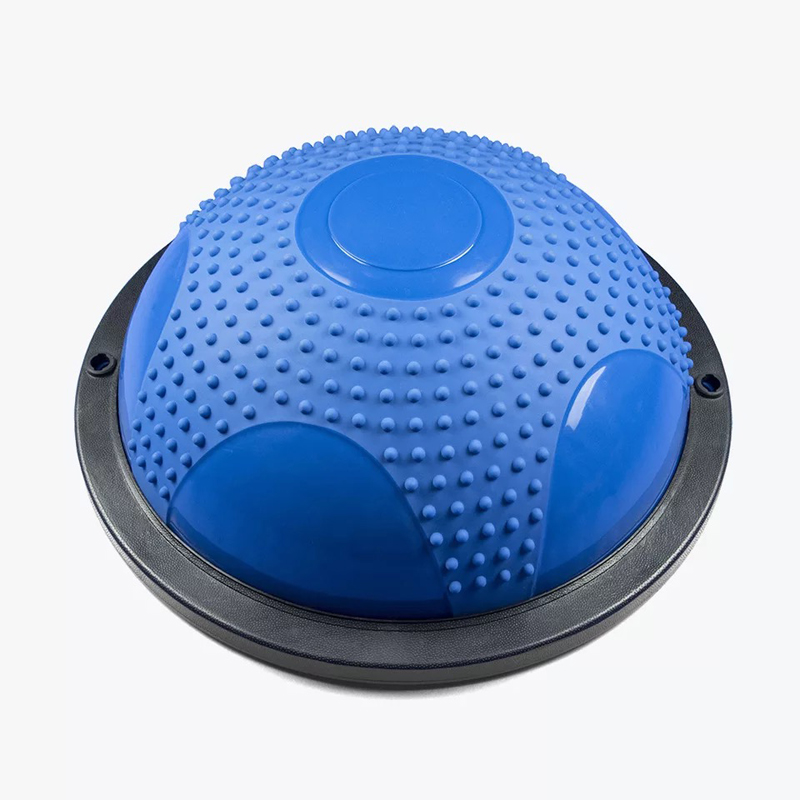 High quality yoga ball body balance half ball fitness ball exercise gym ball Sport Fitball Proof цена