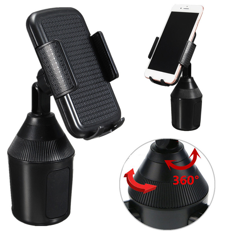 car universal adjustable cup holder car mount for cell