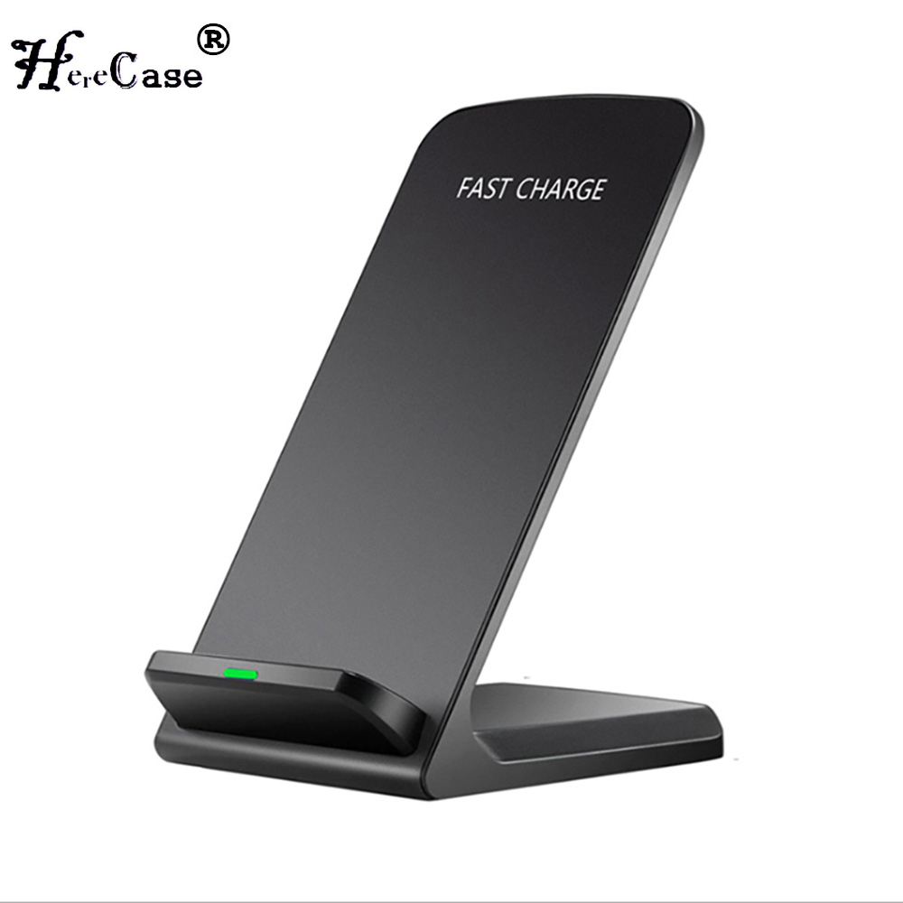 Qi Wireless Charger For iPhone11 X 8 For Samsung Note 8 S9 S8 Plus Xiaomi mix 2s Fast Wireless Charging Docking Dock Station