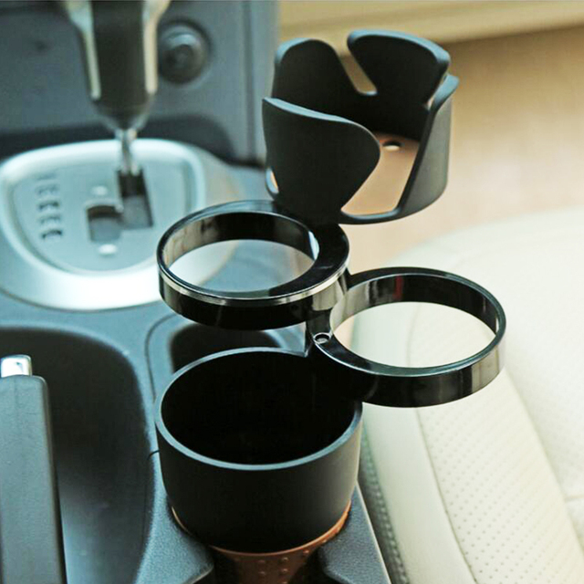 אוניברסלי תכליתי רכב כוס מחזיק Rotatable Convient עיצוב נייד טלפון לשתות משקפי שמש מחזיק משקה מחזיק אבזרים