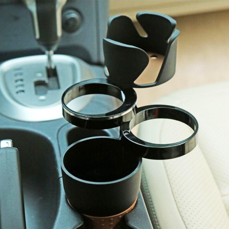 Porte-gobelet universel multifonction pour voiture, rotatif, Design pratique, pour téléphone portable, porte-lunettes de soleil, accessoires