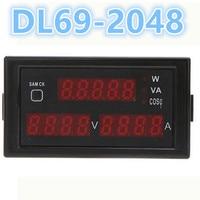 LCD Digital Display Multi Function Voltage Current Power Digital Meter AC 0 100A Voltmeter Ammeter DL69