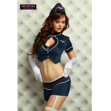 Luxury Clothing Sets Cosplay Lingerie Dress Uniform Temptation Sexy Stewardess Flight Attendant Temptations Passion Clothes