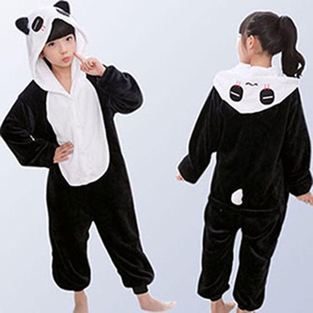 Фланелевые детские пижамы зимние с капюшоном животных Дети Единорог пижамы  для мальчиков и девочек пижамы комбинезоны для 5 23a3f662699df