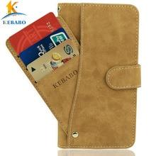 """Кожаный чехол-бумажник чехол для телефона MyPhone hammer Energy 5,"""" Флип винтажные Кожаные чехлы с отделениями для карточек на передней панели Чехол для бизнес телефона защитные сумки"""